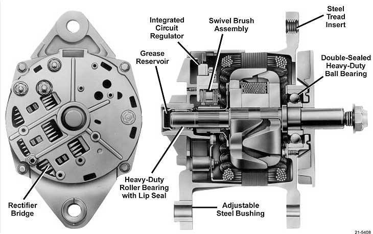 diagram delco 21si alternator wiring diagram full version